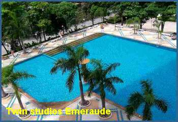 Jomtien twin studios for rent  Jomtien.